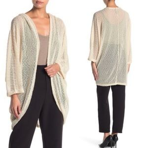 NWT Vince Camuto Nubby Knit Cocoon Cardigan O/S